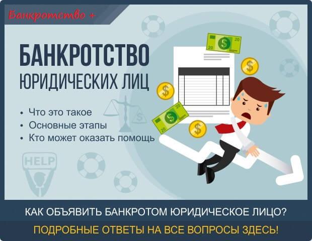 Bankrotstvo yuridicheskih lic